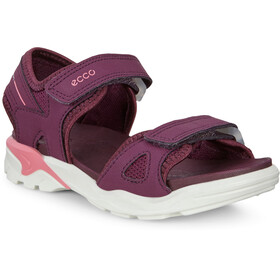 ECCO Biom Raft Sandals Kids, aubergine